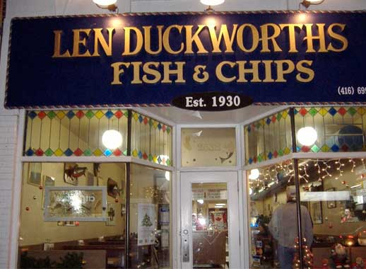 Len Duckworth's Fish & Chips