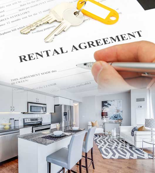 rental agreement on condo