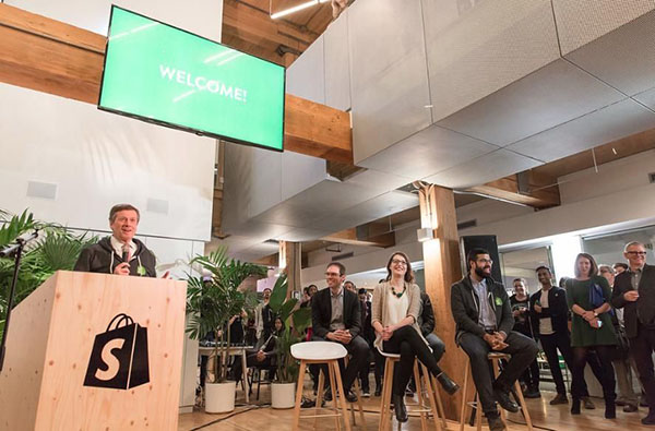 shopify press conference